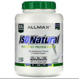 ALLMAX IsoNatural Whey Protein Isolate 5lbs - Unflavored