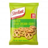 SlimFast Snack Bag - Sour Cream & Chive Flavour Pretzels 23g